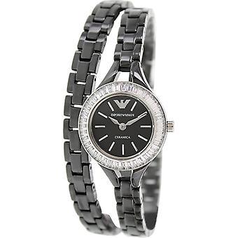 Emporio Armani Ar1483 Classic Black Ladies Ceramic Bracelet Watch