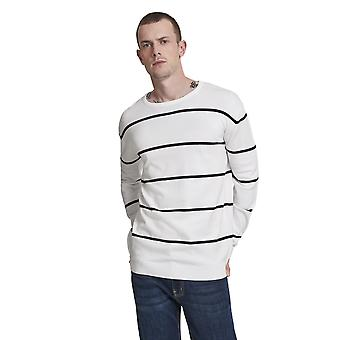 Urban Classics Men's Sweatshirt Line Striped