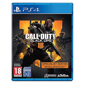 Call of Duty Black Ops 4-Special Edition PS4-spel