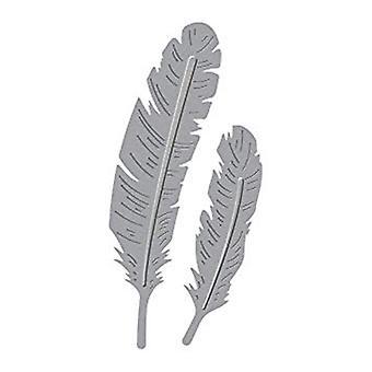 Spellbinders Die D-Lites Deux plumes (S2-270)