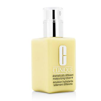Clinique Dramatically Different Moisturizing Lotion+ - For Very Dry to Dry Combination Skin (With Pump) 125ml/4.2oz