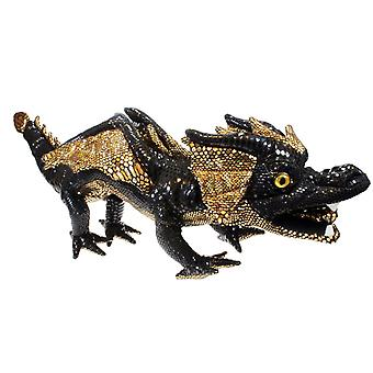 Hand Puppet - Dragons - Dragon (Black) Soft Doll Plush PC001201
