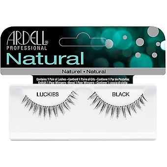Ardell Natural Luckies Black Easy To Apply Full False Eye Lashes