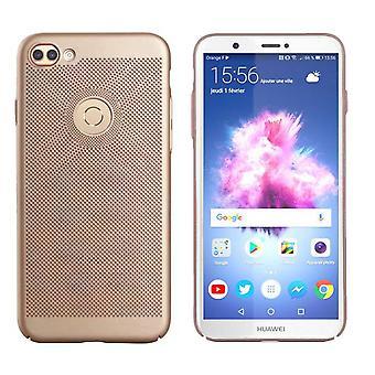 Huawei P Smart Case Gold - Mesh-Löcher