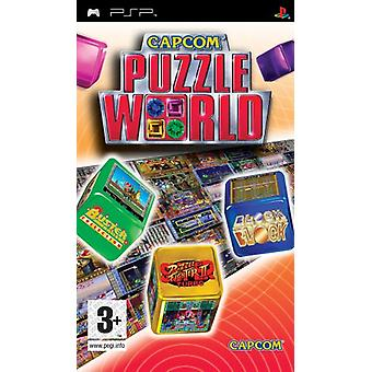 Capcom Puzzle World (PSP)-fabriek verzegeld