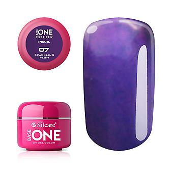 Base one-Pearl-Sparkling plum 5g UV Gel