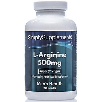L-arginine 500mg-
