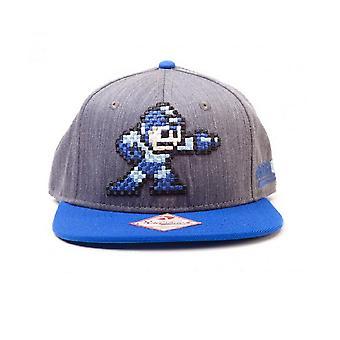 Megaman baseball Cap pixel character new Official Snapback