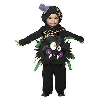 Peuters Childrens gek Spider fancy dress kostuum