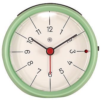 nXt - Alarm clock - Ø 9.5 x 3.8 cm - Green - 'Otto'