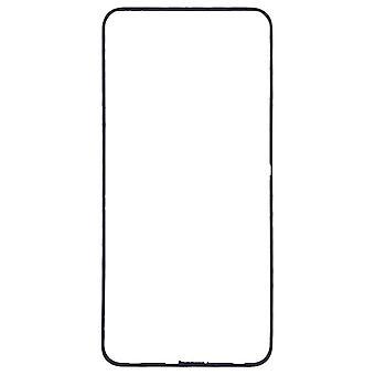 Carcaça moldura frame médio tampa compatível para Huawei Honor 8X peça de reposição de reparação