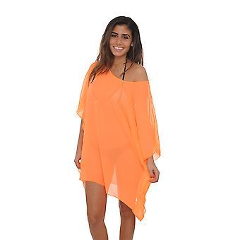 Women's Chiffon Boho Tunic Beach Dress