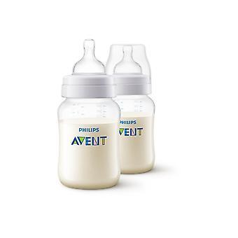 Philips Avent Classic + 2 Wide-nek Baby flessen van 260ml