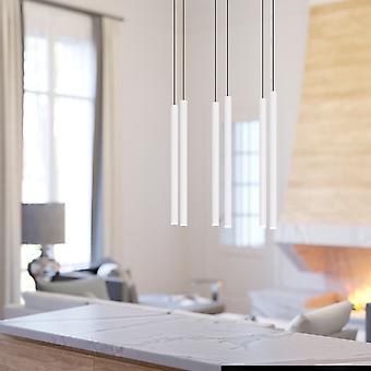Canalis 6 Mini hanger verlichting wit