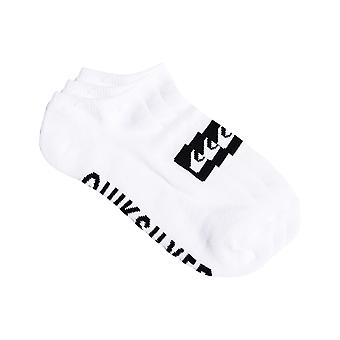 Quiksilver 3 Ankle Pack Ankle Socks in White
