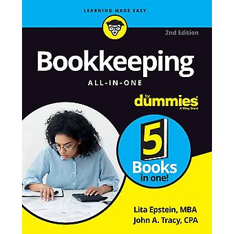 Bookkeeping AllinOne For Dummies 2nd Edition by Epstein & Lita