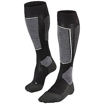 Falke Skiing 6 Knee High Socks - Black Mix