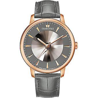 Swarovski horloge 5364203 horloges - horloge automatische Edition limiet Atlantis e leer grijs man