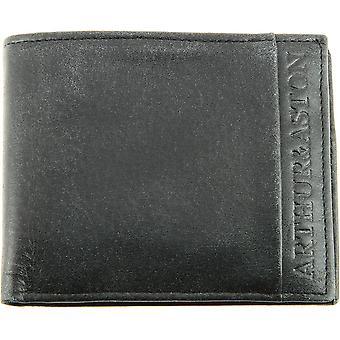 Vachette Leder Brieftasche - Baumwollfutter
