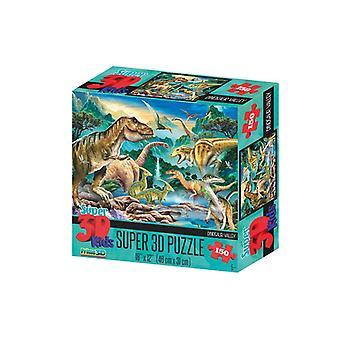 Prime 3D Puzzel 46x31cm 150st. Dinosaurus Vallei 5+
