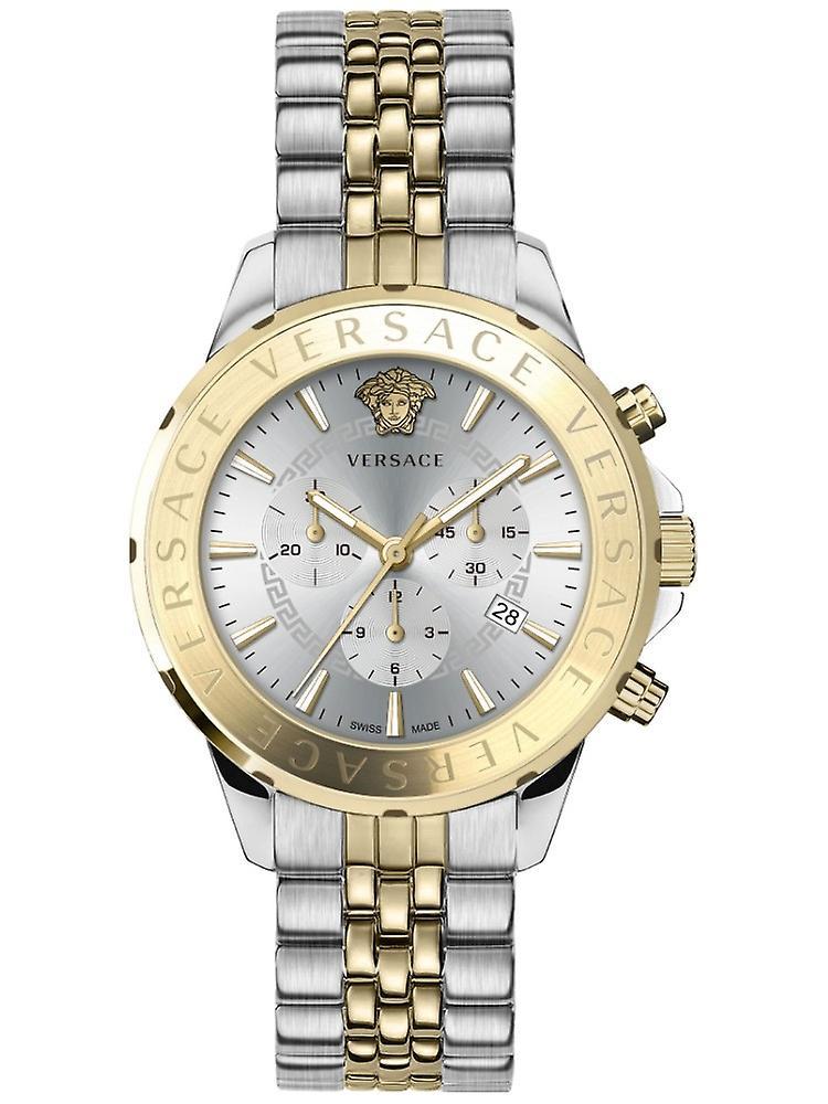 Versace Vev600519 Chrono Signature Men's Watch Chronograph 44 Mm