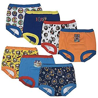 Nickelodeon Boys' Toddler 7-Pack, Paw Patrol, Paw Patrol Assorted, Size 4T