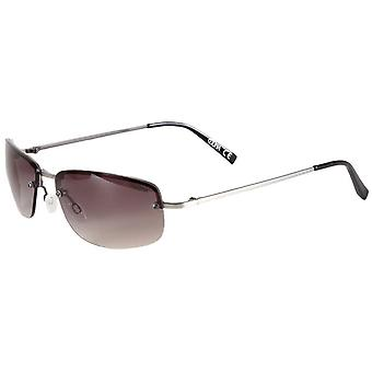 Suuna Metal Rimless Sunglasses - Silver