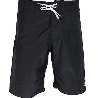 Franklin & Marshall Ua950 Beachwear Unisex Black Swim Shorts