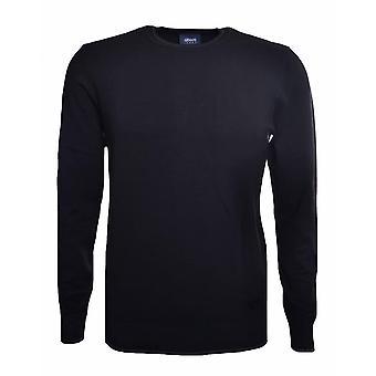 Armani Jeans Men's Black Elbow Patch Jumper