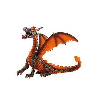 Bullyland GmbH - Spraitbach Dragon sitting orange Figurine