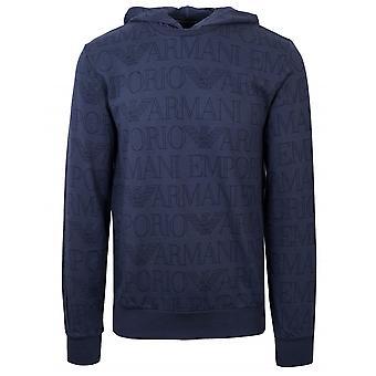 Emporio Armani Loungewear Emporio Armai Loungewear Navy Eagle Hooded Sweatshirt