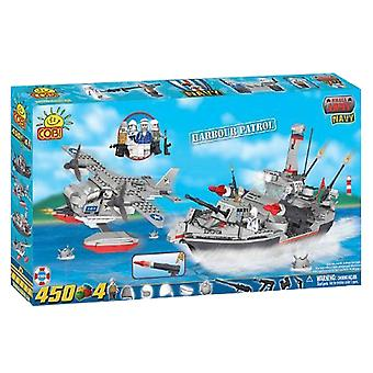 Small Army 450 Piece Naval Harbour Patrol Construction Set