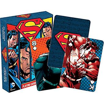 Dc comics superman playing cards
