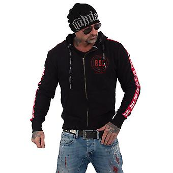 YAKUZA Men's Zip Hoodie War Is Sweet