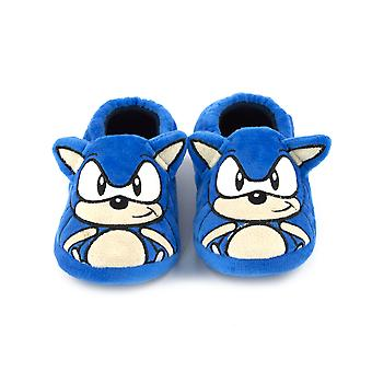 Sonic The Hedgehog Embroidered Face 3D Ears Kid-apos;s Character Slippers Sonic The Hedgehog Embroidered Face 3D Ears Kid-apos;s Character Slippers Sonic The Hedgehog Embroidered Face 3D Ears Kid-apos;s Character Slippers Sonic