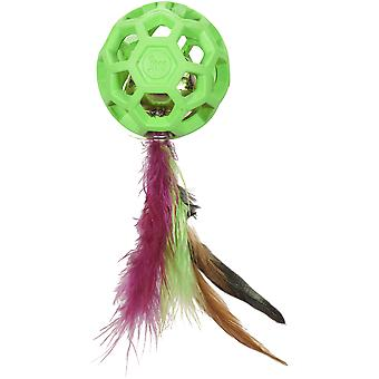 JW Cataction Feather Ball Con Campana (Cats , Toys , Balls)