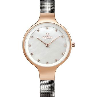 Obaku Sky-Rose Bi Women's Wristwatch V173LXVWMC