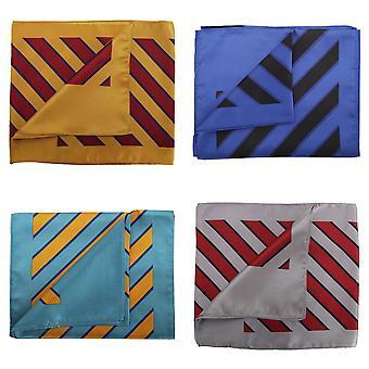 Premier Schal – Damen/Damen breite Streifen Business Schal