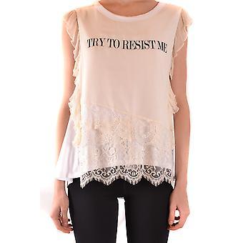 Aniye Di Ezbc098023 Donne's T-shirt in cotone bianco