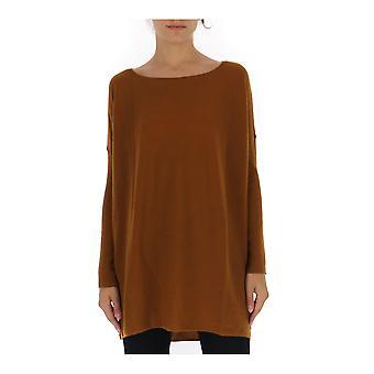 Gentry Portofino D610wsg0233 Women's Brown Cotton Sweater