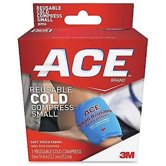 3m ace brand reusable cold compress, soft touch fabric, small, 1 ea