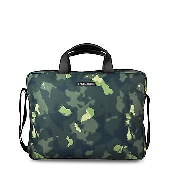 Polizei Original Männer ganzjährig Aktentasche - grüne Farbe 32612