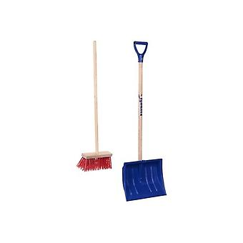 Fynalite Kids Snow Shovel & Broom Set