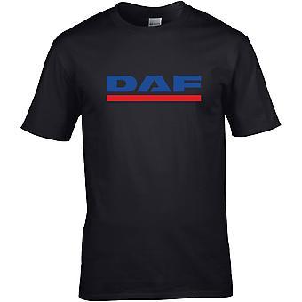 DAF Truck Van Lorry - Car Motor - DTG Printed T-Shirt
