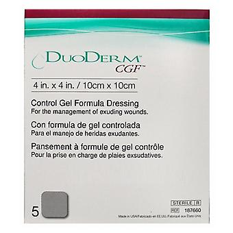 Convatec duoderm cgf dressing, 4 tommer x 4 tommer, 5 ea
