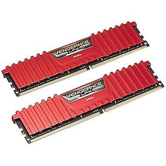كورساير الانتقام LPX ذكريات سطح المكتب عالية الأداء، 32 غيغابايت (2 × 16 غيغابايت)، DDR4، 2666 ميغاهرتز، C16 XMP 2.0، أحمر