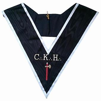 Masonic officer's collar - assr - 30th degree - ckh - chevalier grand introducteur