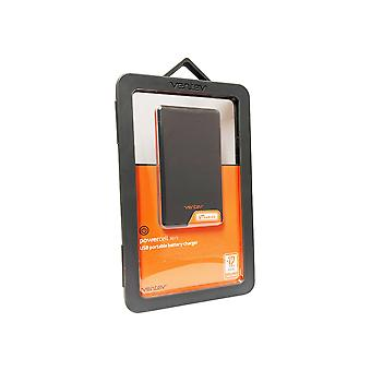 Ventev powercell 3015 portable battery charger, 3000 mAh (10/12 hrs) Gray/Orange