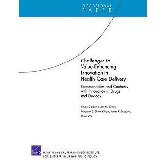 Utmaningar för ValueEnhancing Innovation in Health Care Delivery av Steven GarberSusan M. GatesMargaret E. BlumeKohoutJames BurgdorfHelen Wu