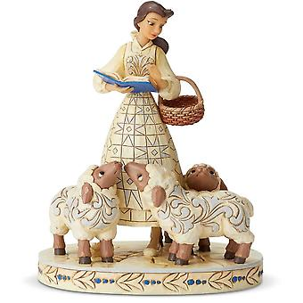 Disney Traditions Bookish Beauty Belle Figurine